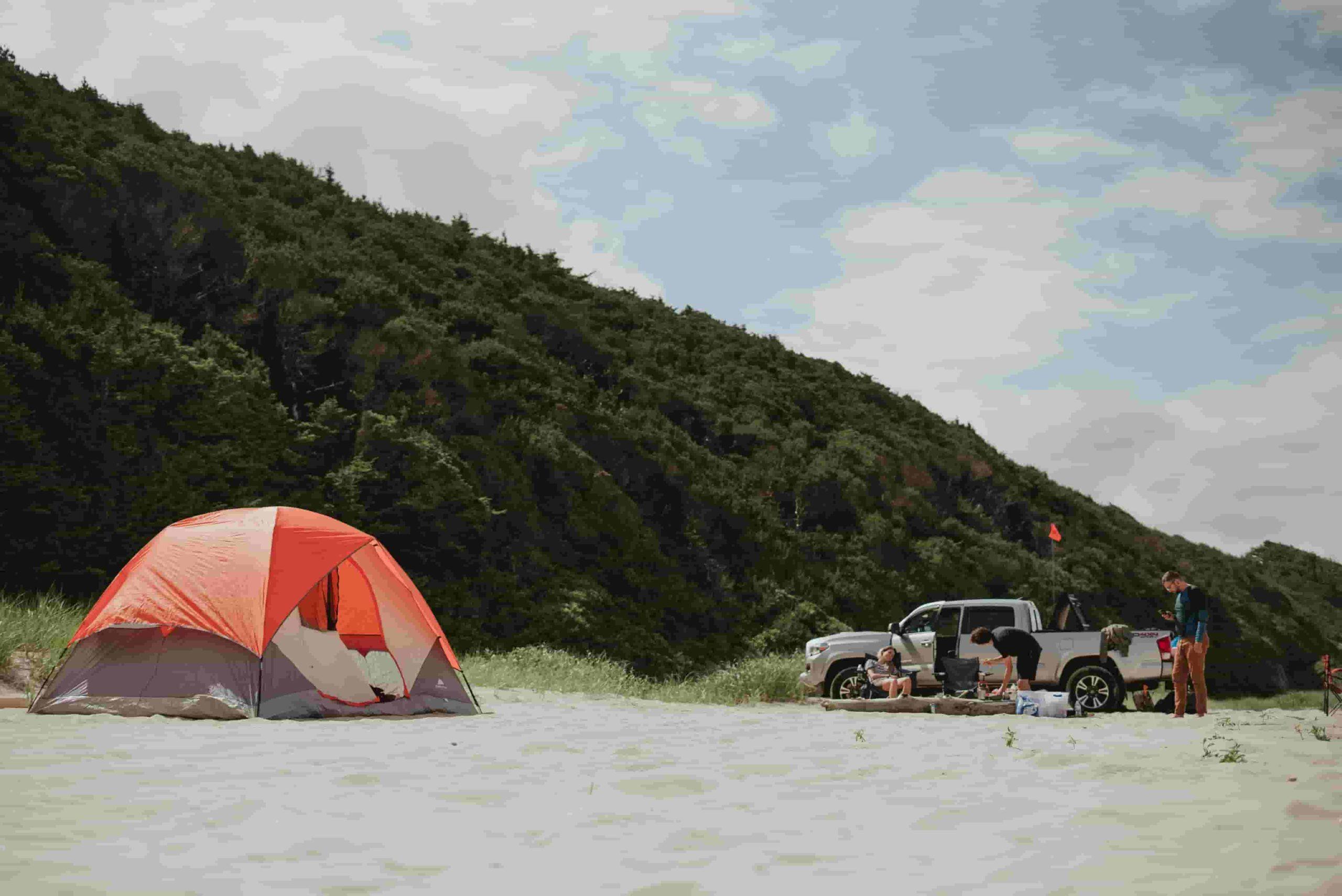 【沖縄】海辺で砂浜キャンプをしよう!